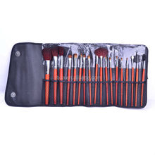 Anna Belle 18pcs best sale professional cosmetic brush set with goat hair
