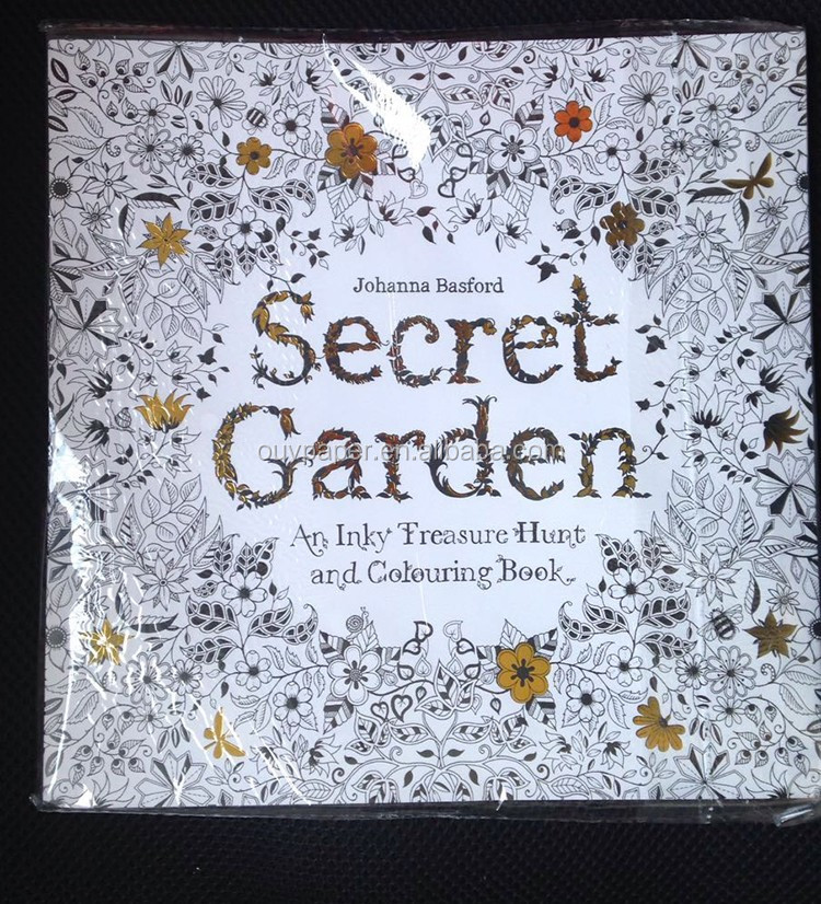 Adult Coloring <strong>Books</strong> Secret Garden Coloring <strong>Book</strong>