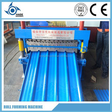 Hot sell! trapezodial sheet IBR metal roofing roll forming machine/rib wall and roof panel steel roll forming machine
