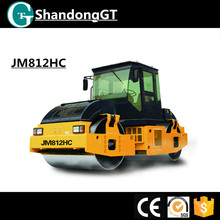 12ton single drive road roller with double drum Vibrate JM812HC
