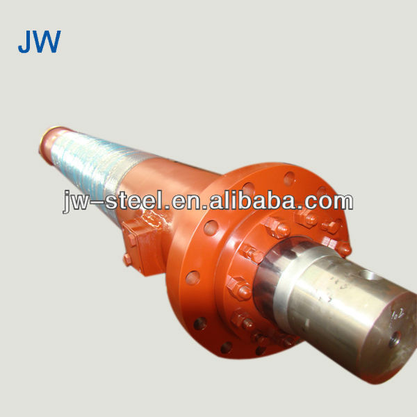 Truck hydraulic parts double rod hydraulic cylinder