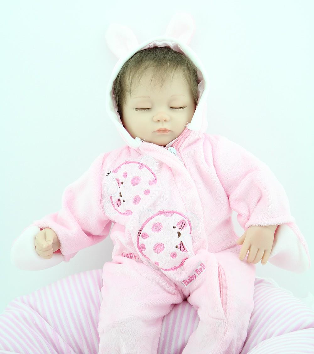 NPK PUPPE 16 Zoll Schlaf Reborn Baby Dolls Billig Spielzeug Handmade ...
