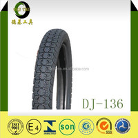 China factory Good pattern 3.00-18 & 2.75-18 Front Motorcycle tube tyre