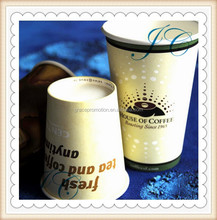 China manufacturer custom logo printed coffee paper cup for drinking coffee