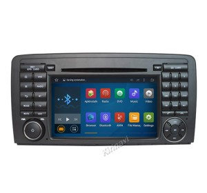 Kirinavi WC-MB7511 Android 7.1 Quad Core 7 inch Car Radio Stereo GPS Navigation For Mercedes Benz ML W164 / GL X164 ML350 ML320