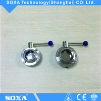DIN Sanitary Stainless Steel Manual Welded