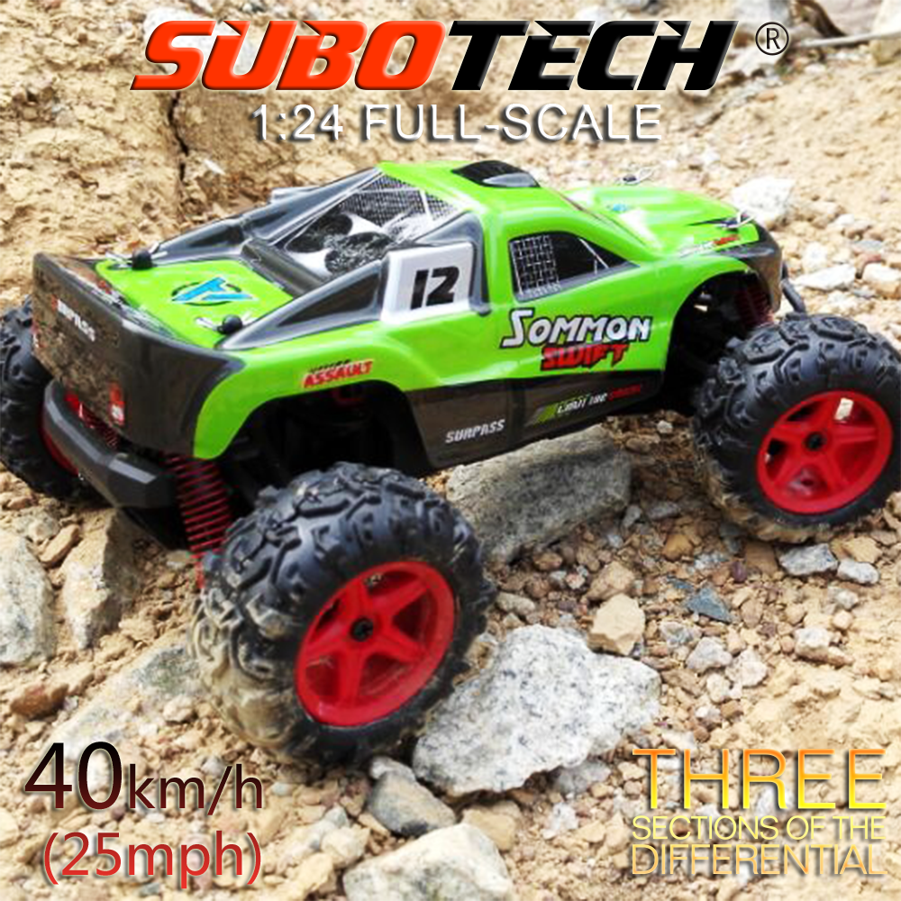 Two color 1:24 2.4G rtr rock crawler Baja 5b, Remote Control high speed imperial racing rc car