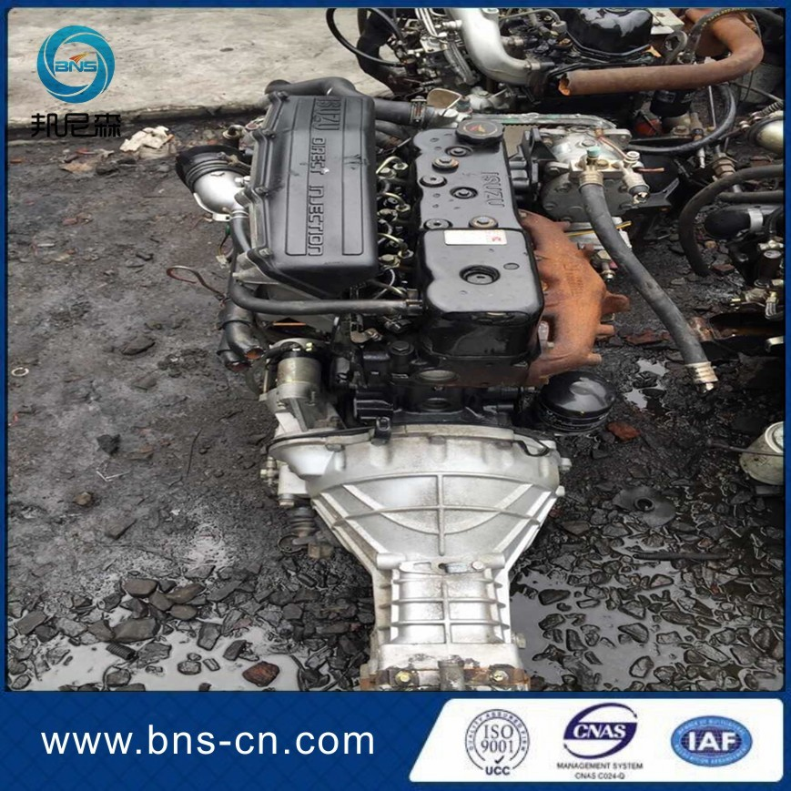 China JMC 4jb1 turbo used diesel engine for pickup
