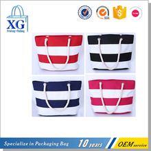 cheap shoulder style canvas beach bag