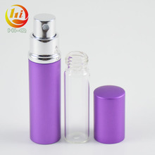 Free samples 10ml atomizer refill fragrance bottles aluminum spray bottles wholesale