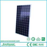 Polycrystalline 100 watt 156*156mm 25 years warranty Solar Module