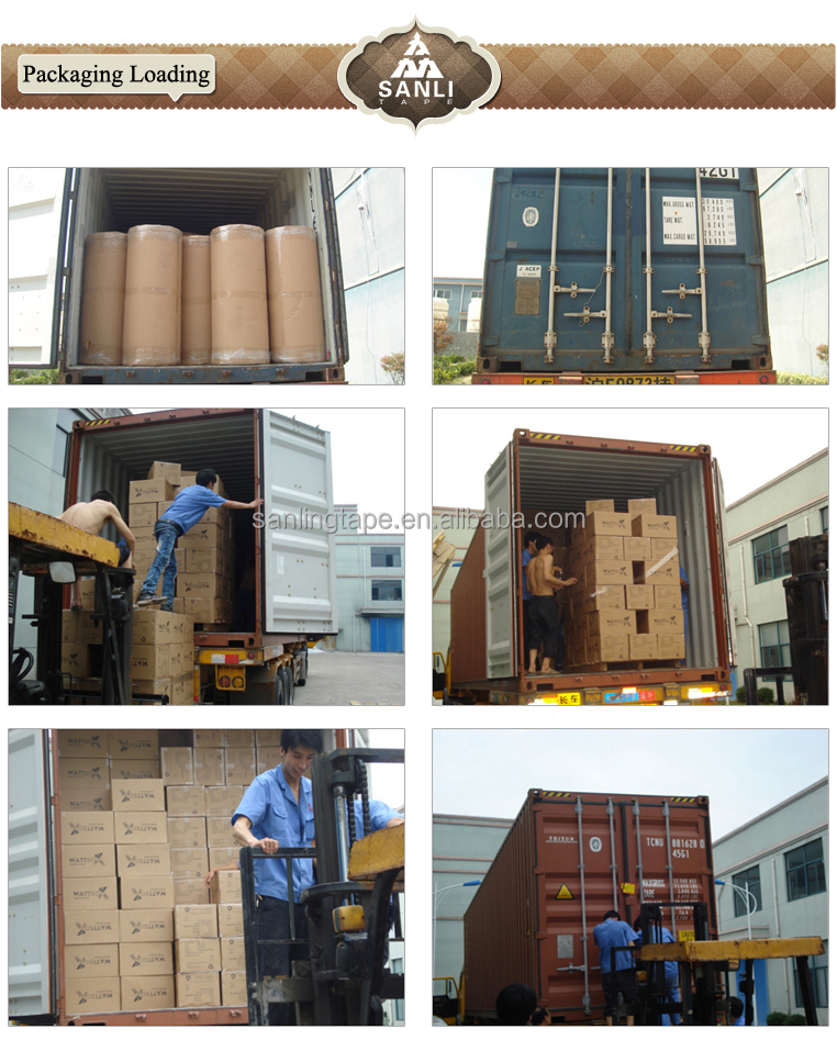 BOPP Material Brown Packaging Tape carton sealing use