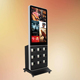 LED advertising display screen/outdoor chromecast mini pc digital signage/cell phone charging kiosk