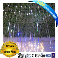 100 cm Flexible Led Meteor Snowfall Light with good waterproof for holiday