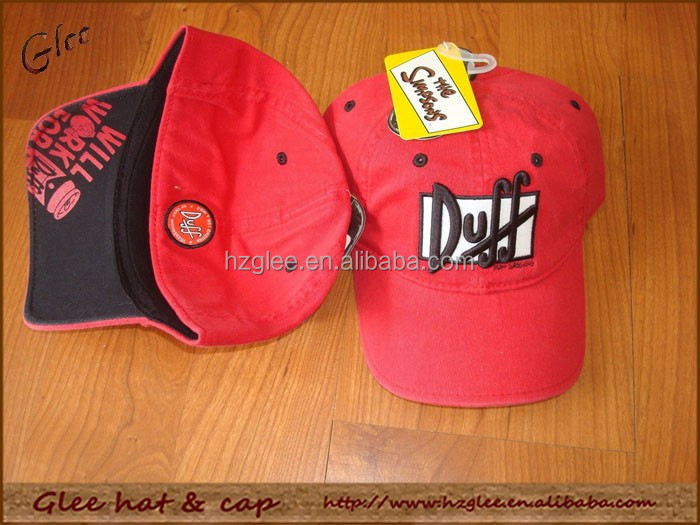 Make high quality fitted baseball hat custom logo flex fittted golf hat