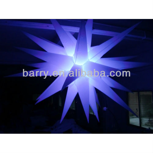 2013 hot lighting star inflatable wedding decoration for sale