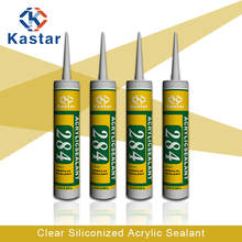 building supply clear siliconized acrylic sealant for chinmeys