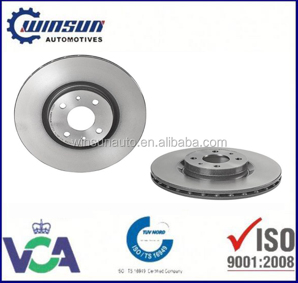 For ALFAROMEO/FIAT/LANCI disc brake rotor brake parts system, auto spare parts factory