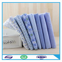 High quality competitive price fabric cotton blue and white striped made in china