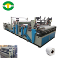 Automatic toilet roll tissue paper embossing machine