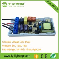switching power supply 6W/12W/18W/ 12V constant voltage led driver/0.5A 12v switch power