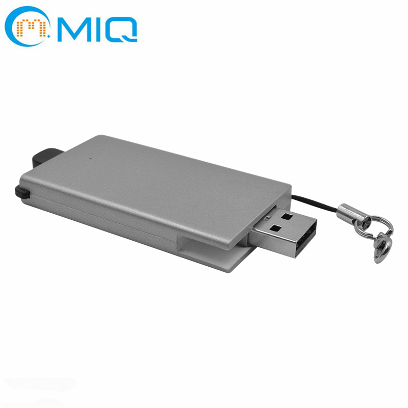 MIQ anti loss key usb flash drive charger power bank
