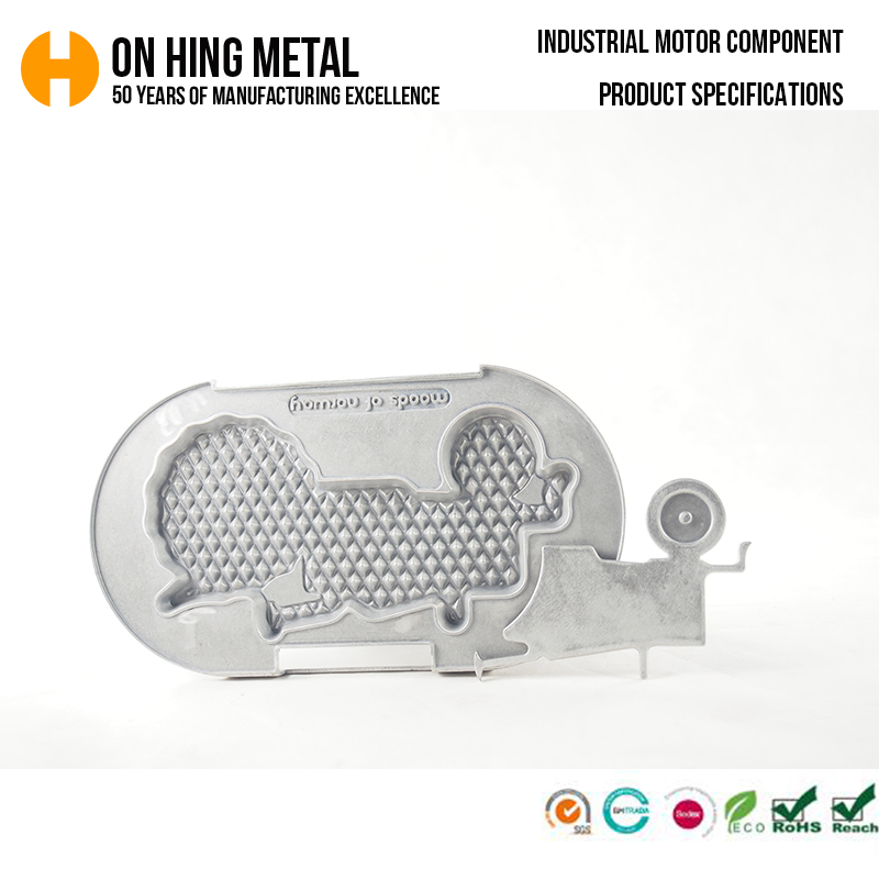 Aluminum alloy die casting household appliances shell accessories
