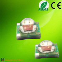 High lumen EpiLEDs chip 1W 3W 620nm 625nm 630nm red 3535 smd led chip