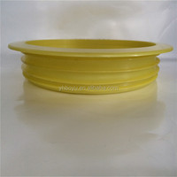 Pipe fittings soft round tube insert