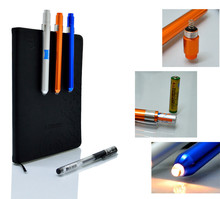 Durable 100 lumen mini medical unique pen design led flashlight