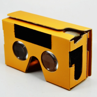 Head Mount Plastic Vr Box 2.0 3d Glasses Virtual Reality Glasses For Google Cardboard 3d Moive Glasses For sale