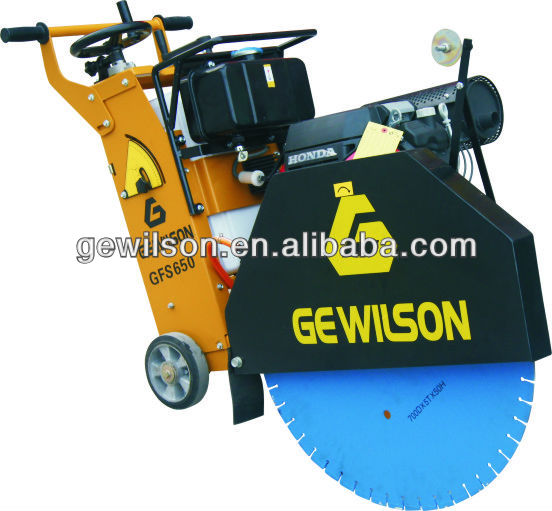 Gasoline Concrete Floor saw