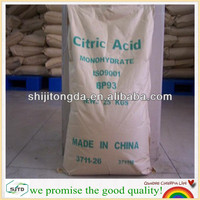 Export Food Grade Citric Acid Anhydrous