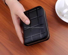 genuine leather european women clutch wallet oil leather wallet for ladies