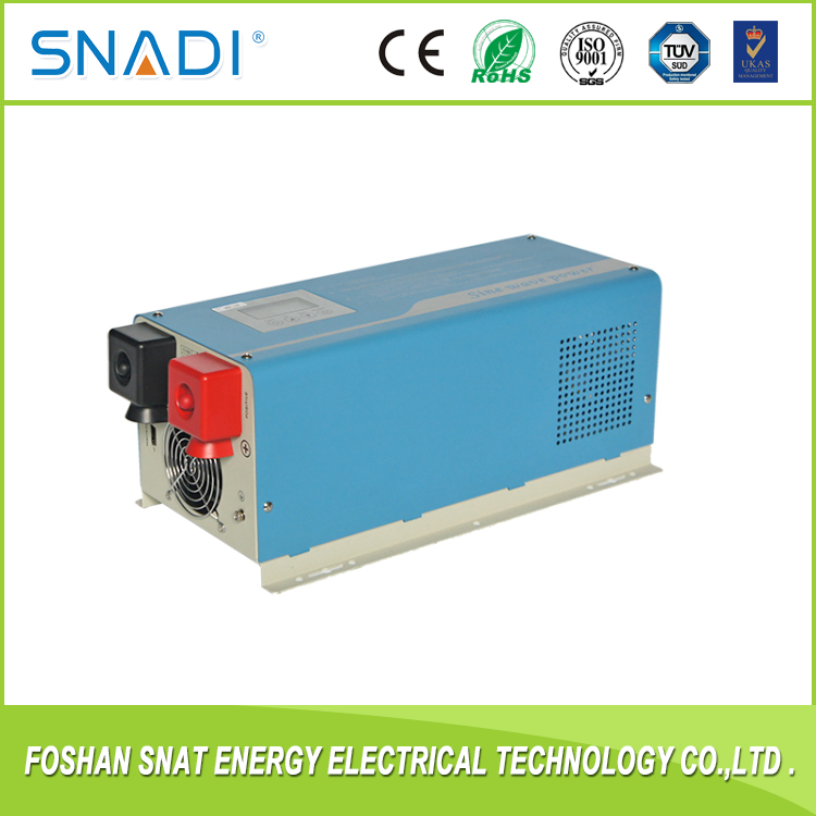 Factory! UPS 4000W Pure sine wave solar inverter 4KW combined charger