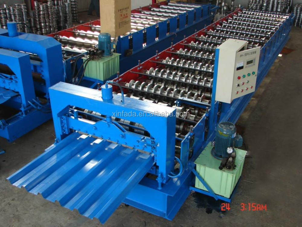 Professional Manufacturer of Metal Roof Shingles Roll Forming Machine