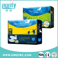 Non Woven Fabric Material Quality pampering diaper for old women