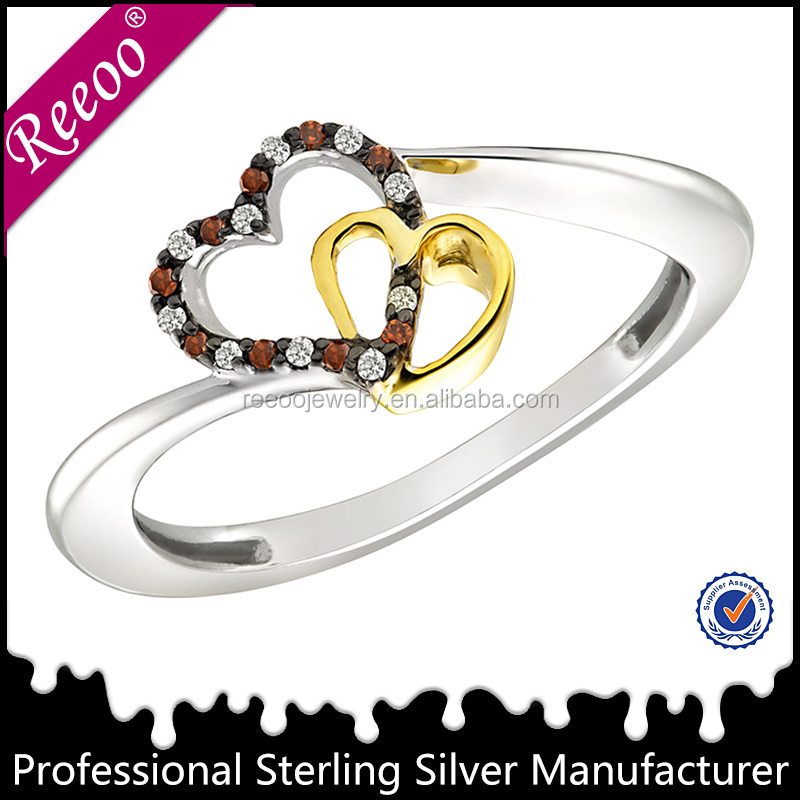 Trendy 925 silver wedding penis rings artificial jewellery rings