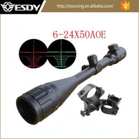 ESDY Tactical 6-24x50 AOE Red & Green Illuminated Dot RifleScope