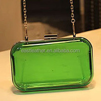 N086 clutch frames wholesale suppliers transparent clutch bag