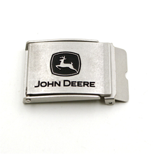 Custom wholesale 3d metal coat belt buckle with embossed logo