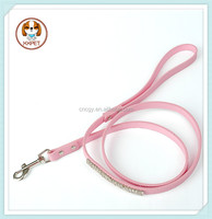 Personalized leather dog cat pet leash customized dog leashes
