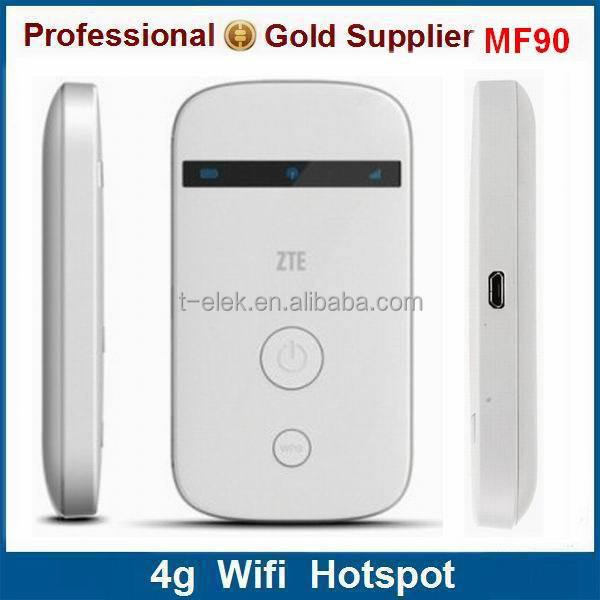 cheap in stock ZTE MF90 TDD FDD 4g mobile wifi lte router with sim card slot