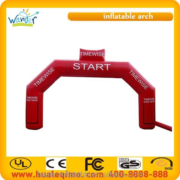 2015 New design PVC inflatable arch for sports, events