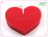 Hot-Sale Body Heart Shape Shower Bath Sponge For Babys