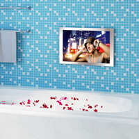 S2208 high quality popular mirror waterproof tv for spa from alibaba