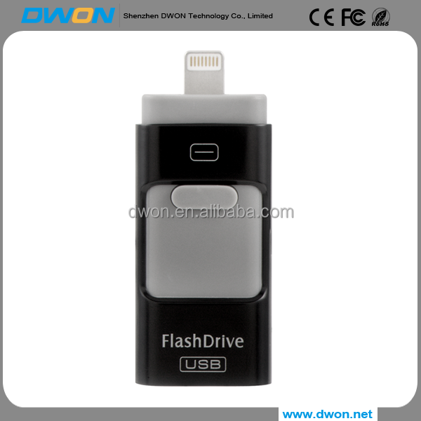 2017 high speed custom mobile phone retractable IOS OTG USB <strong>flash</strong> drive for iPhone, iFlash Drive