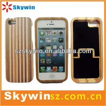2013 new product wood phone case for iphone5 covers