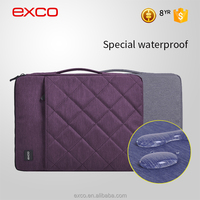 New arrival EXCO Stitching logo waterproof high quality laptop computer bag for 11 13 15'' MacBook