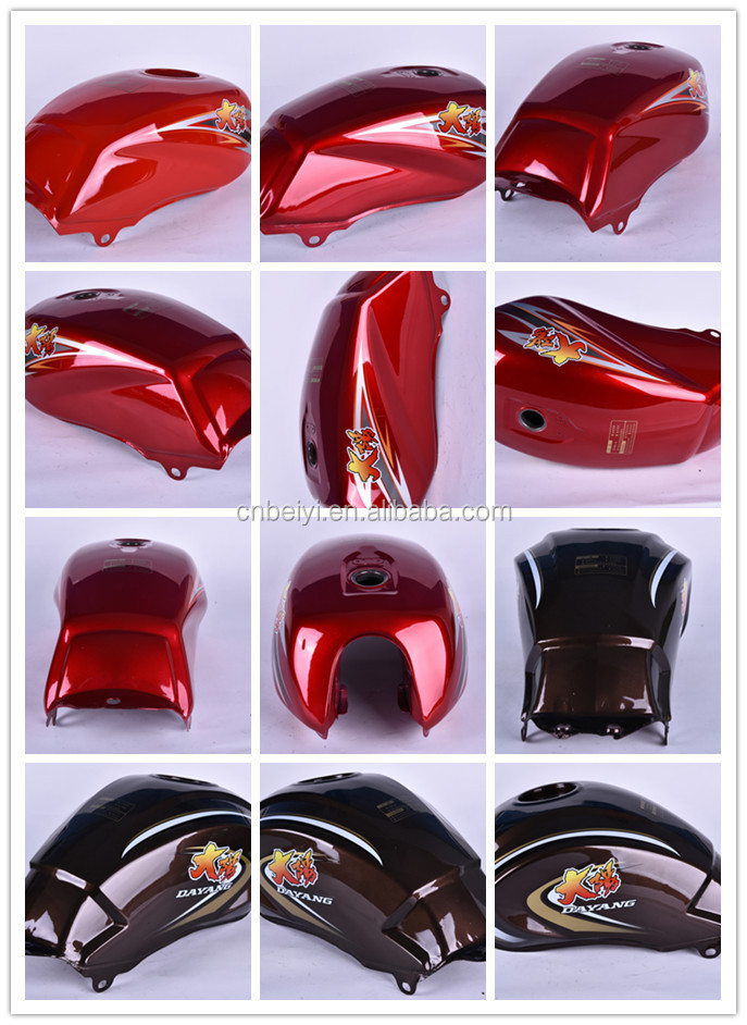 2016 hot sale China chongqing best selling painting trike gas tank/oil tank/fuel tank for adult three wheel motorcycle tricycle